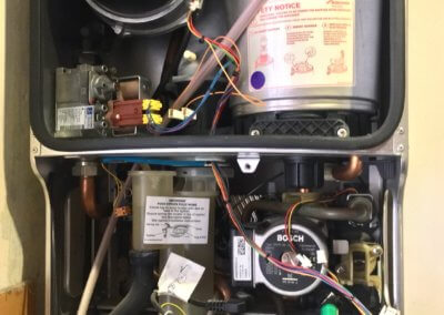 Worcester Bosch Greenstar 30SI combi flow assembly leak