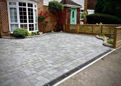 Driveway in Rainham - Marshalls Tegula Pennant Grey