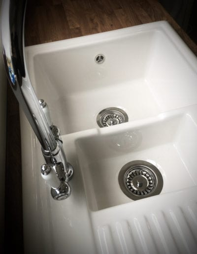 Fireclay 1.5 bowl sink