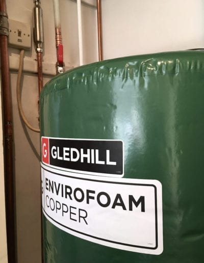 Gledhill hot water cylinder