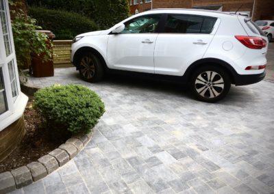 Marshalls Tegula Pennant Grey driveway