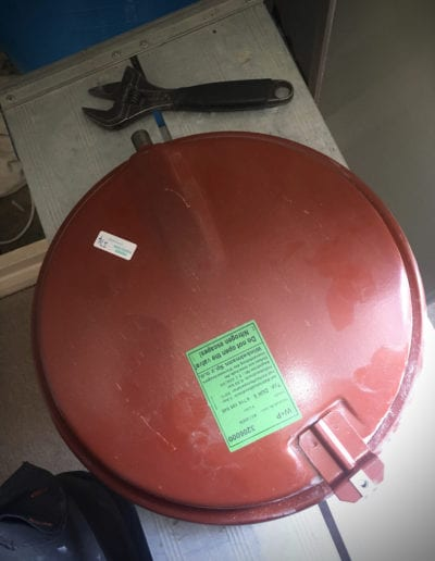 Worcester Bosch expansion vessel failure