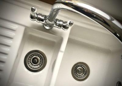 Fireclay sink 1.5 bowl
